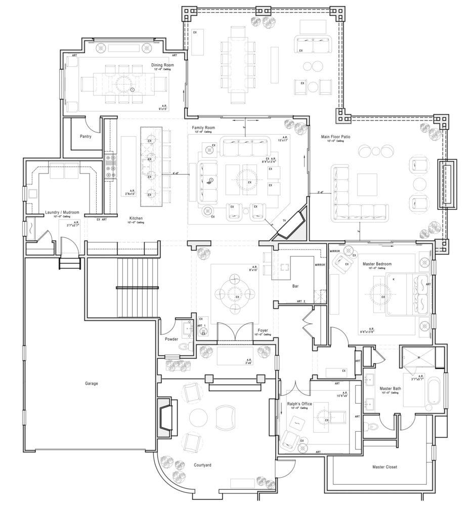 Furniture Layout Space Planning Denver Interior Designers Inside Stories By Duet Design Group